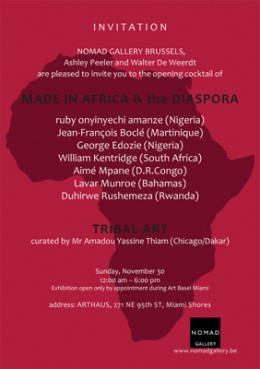 Made in Africa & the diaspora
